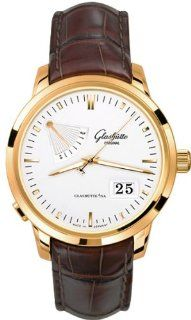 Glashutte Original Senator Power Reserve Display Mens Rose Gold Watch