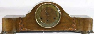 German Art Deco Westminster Mantle Clock Junghans