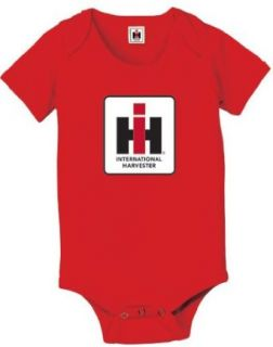 International Harvester Tractor Infant Onesie Creeper