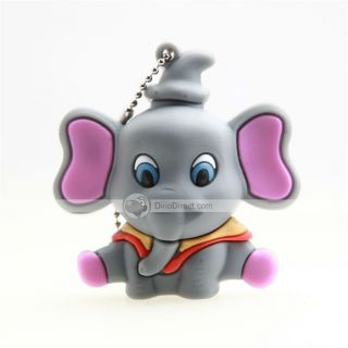 Wholesale OuRunzhe 8GB Cartoon Dumbo Rubber USB Flash Drive