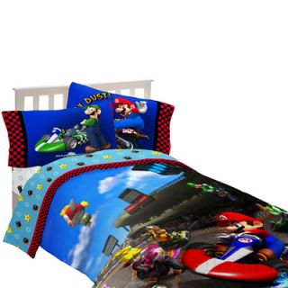 Nintendo Super Mario Brothers Sheet Set & Bedding Collection  Meijer