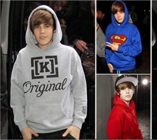 and love justin bieber HOODIE Superman THIS GIRL HAS BIEBER FEVER tee