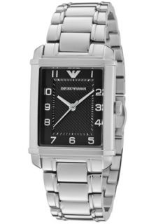 Emporio Armani AR0494 Watches,Womens Classic Black Textured Dial