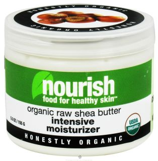 Nourish   Intensive Moisturizer Organic Raw Shea Butter   5.5 oz. Food