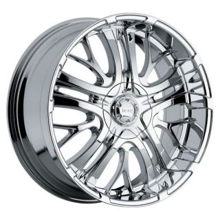 22 inch Incubus paranormal chrome wheel rim 5x115 Challenger Charger