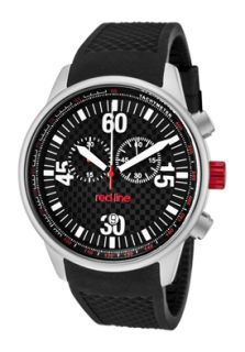Red Line 10104 Watches,Mens Tech Chronograph Black Dial Black