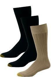 PAIRS MENS PREMIUM COTTON GOLD TOE STYLE RIBBED DRESS SOCKS 10 13