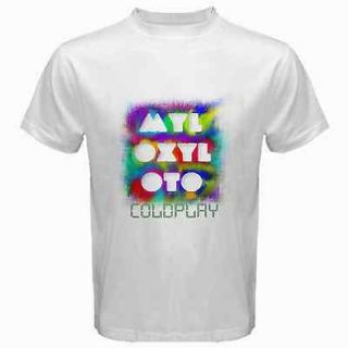Coldplay MyloXyloto DVD Music Ticket Tour T SHIRT S M L XL Size