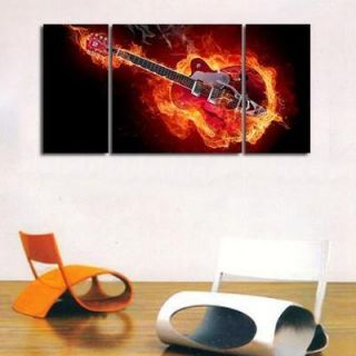 "HOT SELL Modern abstract wall art painting on canvas""Madness Guitar"
