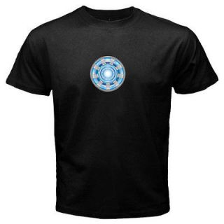 The Avengers Arc Reactor Iron Man T Shirt Men Tony Stark Loki Thor