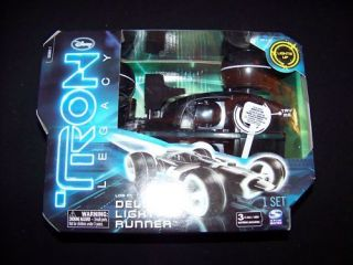 Tron Legacy Deluxe Light Runner vehicle Lightrunner NEW