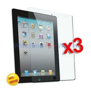 Anti Glare Matte LCD Screen Protector Accessories for iPad 2 WIFI 3G