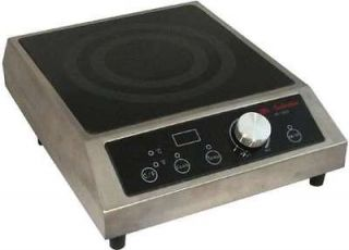 1800W COMMERCIAL COUNTER TOP INDUCTION RANGE COOKTOP RESTAURANT SMART