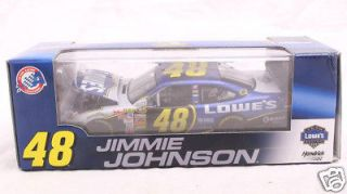 Jimmie Johnson 124 Diecast with Display Case, Action GOLD Series