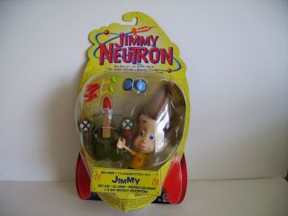 Jimmy Neutron Boy Genius Heli Pack Jimmy 6 Action Figure