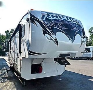 raptor toy hauler in Fifth Wheel RVs