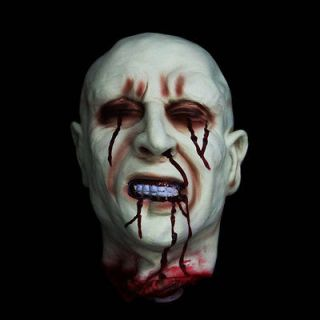 Head Haunted Halloween Prop Life Size Decapitated Dead Man Zombie