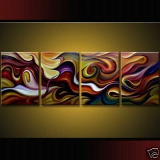 modern abstract huge art oil painting canvas no frame from