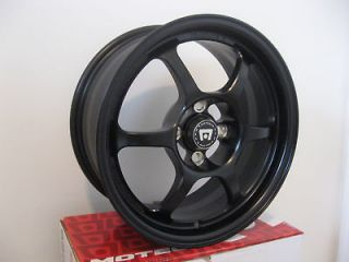 15 inch MOTEGI RACING TRAKLITE RIMS WHEELS 10lbs 4x100 +35mm 15x7