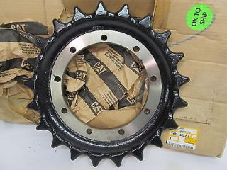 caterpillar 140 4022 drive sprocket mini excavator
