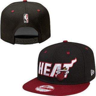 New HOT N B Miami Heat SNAPBACK HATS VINTAGE CAPS