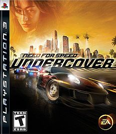 Need for Speed Undercover Sony Playstation 3, 2008