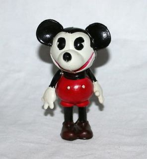 MICKEY MOUSE CELLULOID NURSERY DOLL HAND PAINTED FIGURINE+EXTRA​S