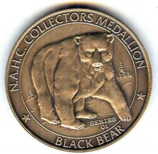 c3747 north american hunting club bronze medal black bear returns