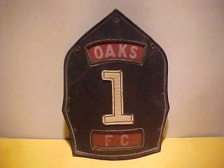 oaks north carolina fire helmet front  37
