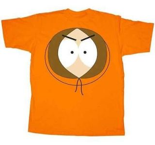 Shirt Tee SOUTH PARK NEW Kenny Face (MEN/Adult) Orange Anime