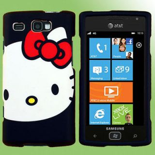 Case for Samsung Focus Flash Hello Kitty H Snap On AT&T SGH i677 Cover