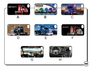 kenworth heavy truck iphone 4 4s 5 hard back cover