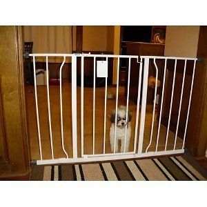 Open EXTRA WIDE Pet Pets Baby Babies Child proof Metal Safety Gate