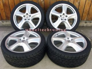 22 porsche cayenne sport techno wheels and tires new fits