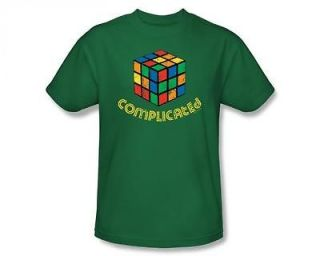 rubiks cube complicated funny t shirt tee