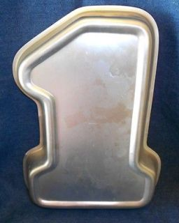 Wilton #1Youre Number One Cake Pan First Birthday Rocket Ship 502
