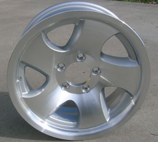NEW 15 Aluminum Twisted Spoke Trailer Wheels / Rims 5 Lug on 4.5