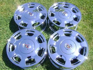 16 factory cadillac deville sevill e chrome wheels rims