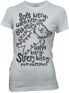 big bang theory soft kitty junior girls tv t shirt s