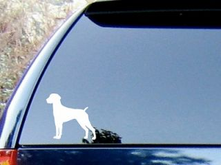 German Shorthaired Pointer Vinyl Decal Sticker / Color Choice   HIGH