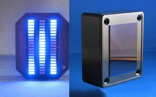 knight rider mini vbox display blue karr 60 led wenc