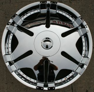 KASINO ACE 570 24 CHROME RIMS WHEELS LINCOLN MARK LT / 24 X 9.5 6H
