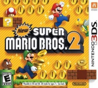 New Super Mario Bros. 2 Nintendo 3DS, 2012