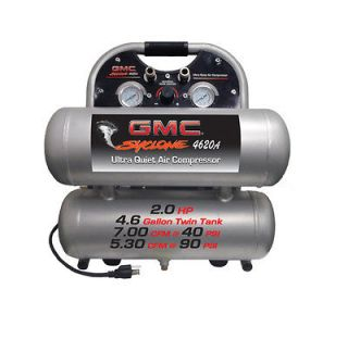 gmc syclone 4620a ultra quiet oil free air compressor time