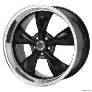 20 BLACK AMERICAN RACING TORQ THRUST M WHEELS RIMS 2010 2012 CAMARO LS