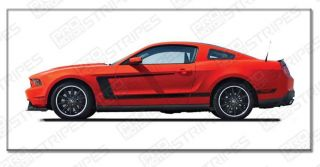 Ford Mustang Reverse C Stripes Boss 302 Style 2010 2011