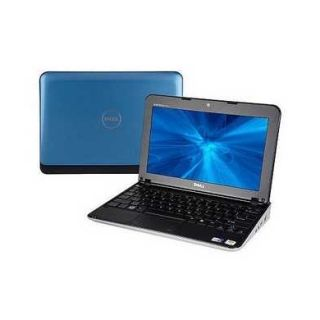 10.1 Dell Mini 1012 Netbook Blue Intel Atom N450 Processor 1.66GHz