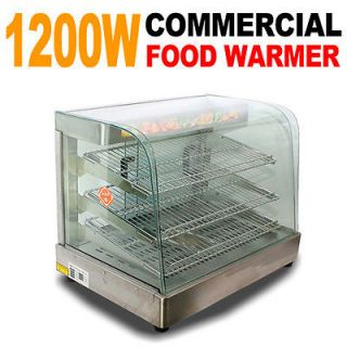 New MTN Commercial Large Countertop Desk Food Pizza Display Warmer 25