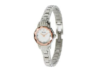 Bulova Ladies Diamond   96P130    BOTH Ways