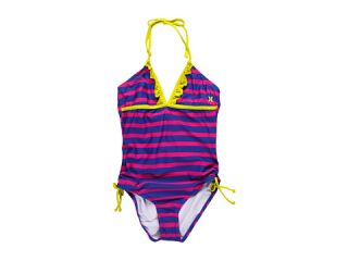 Hurley Kids Minnow Stripe One Piece (Big Kids)